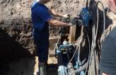 Прокладывание футляров под кабель по ул. Вокзальной г. Мытищи