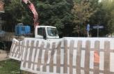 Замена участка наружных сетей водопровода из стальной трубы Ø 300 мм методом разрушения на полиэтиленовую трубу ПЭ 100 SDR 17 Ø 315 мм по ул. Новороссийская, г. Москва