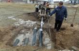 Расширение и протягивание трубы футляра диаметром 160 мм