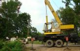 Прокладывание футляров линии энергоснабжения в г. Дубна