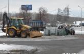 Строительство сетей поверхностного водоотвода на территории подземной парковки СТЦ МЕГА г. Химки