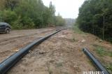 """Прокладывание сети водопровода и канализации к строящемуся ЖК """"МИШИНО"""" г. Химки"""
