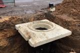 Строительство сетей водопровода и канализации в г. Химки Московской области.