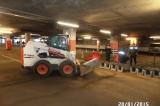 """Сдача работ по """"Реконструкции ливневой канализации  западной части открытой парковки и подземной парковки СТЦ МЕГА (Химки)"""""""