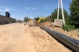 Мы продолжаем работу на объекте напорная ливнёвая канализация диаметром 560 мм L = 1943 м ,МФТИ, в городе Долгопрудный!